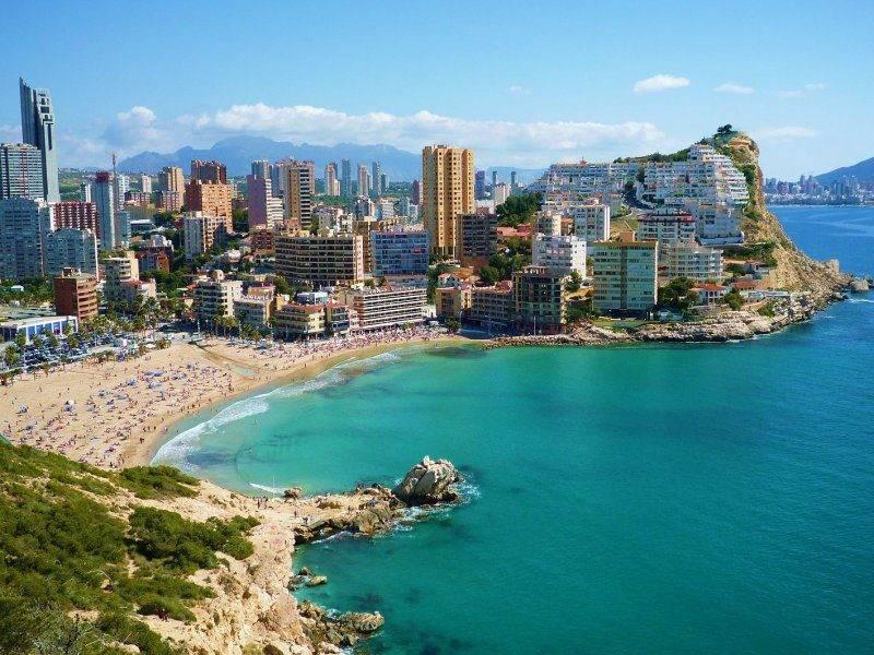 фото города аликанте испания