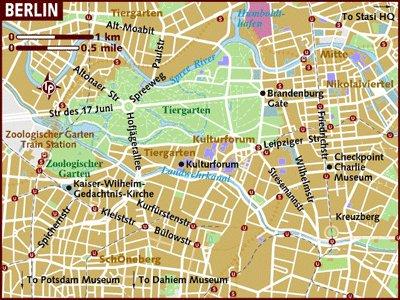 карта берлина с достопримечательностями на русском языке скачать бесплатно