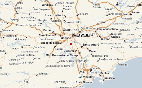 карта расположения города Сан-