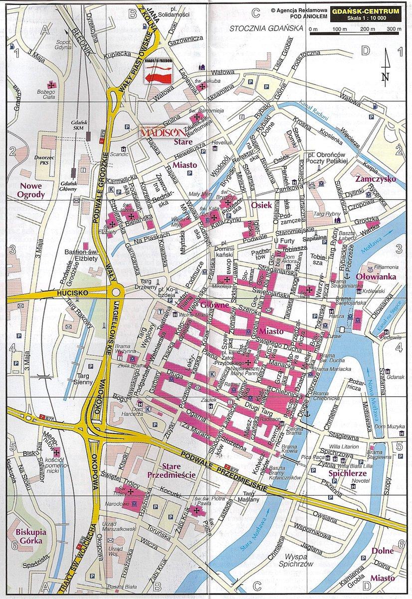 фото карта лодзь