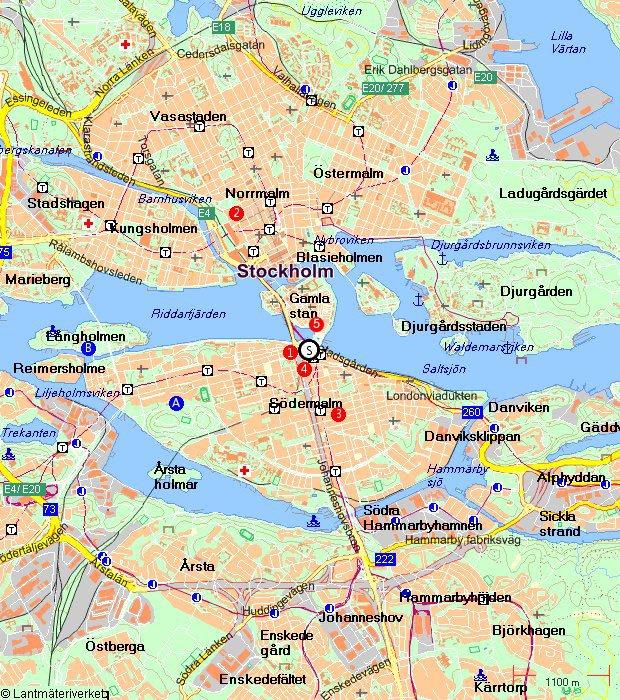 карта стокгольма на русском