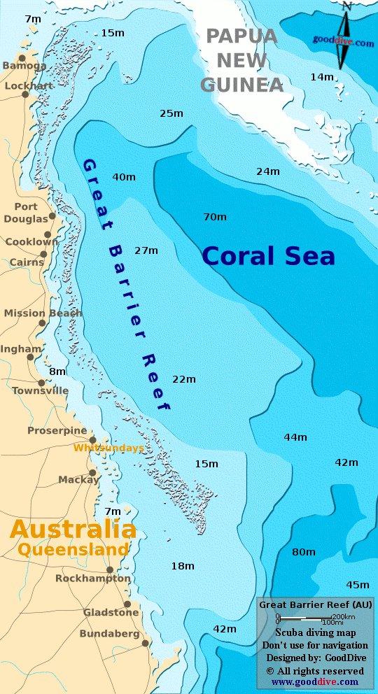 карта курорта Острова Большого