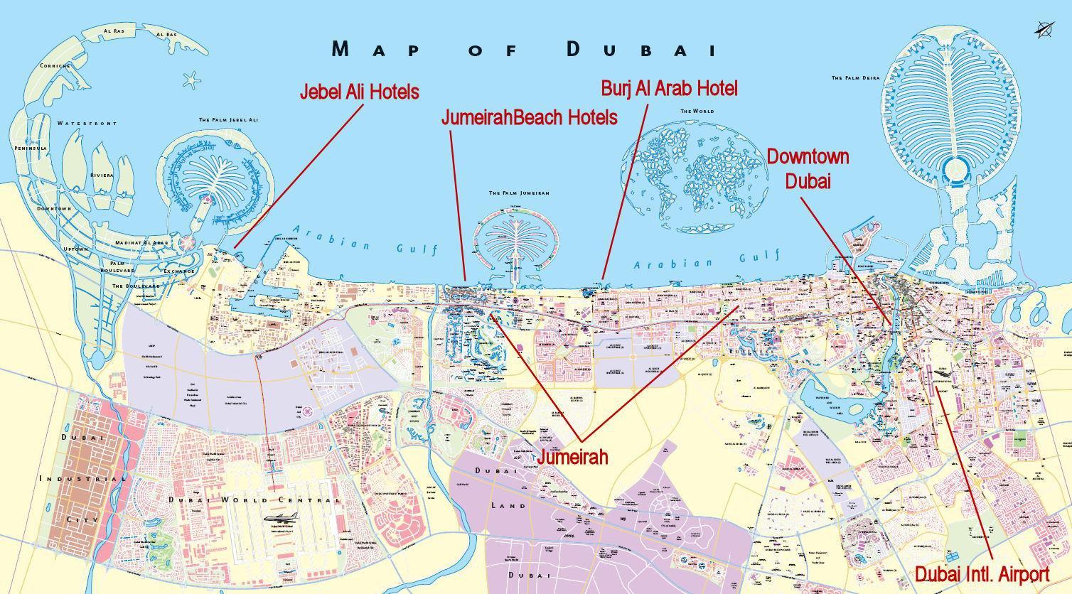 Дубай Карта Метро На Русском