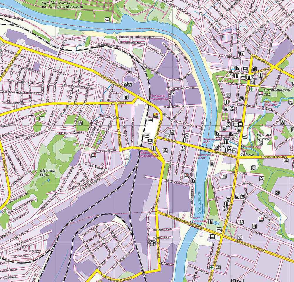 карта витебска с улицами скачать - фото 4