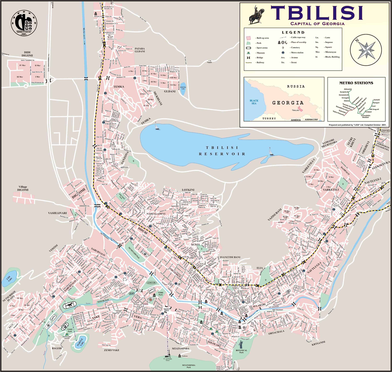 Карта Курска подробная с улицами, номерами домов, районами ...