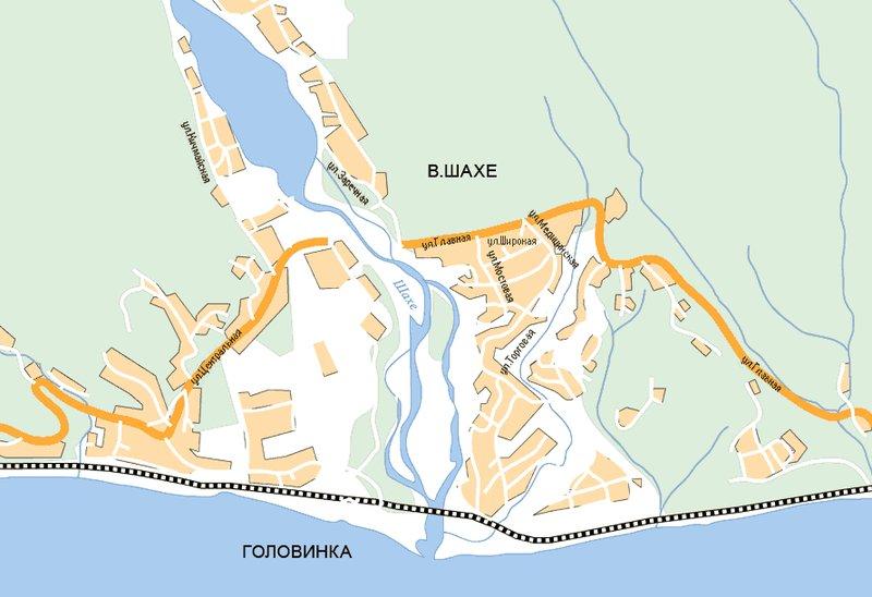 Карта Головинки