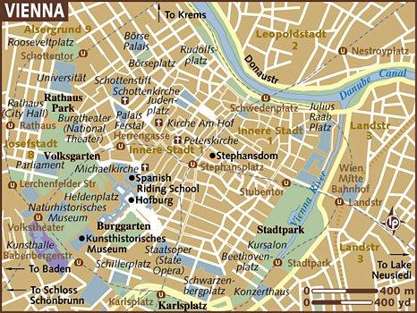 скачать карта вены на русском языке с достопримечательностями - фото 7