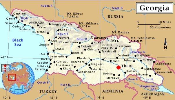карта грузии на русском скачать - фото 6