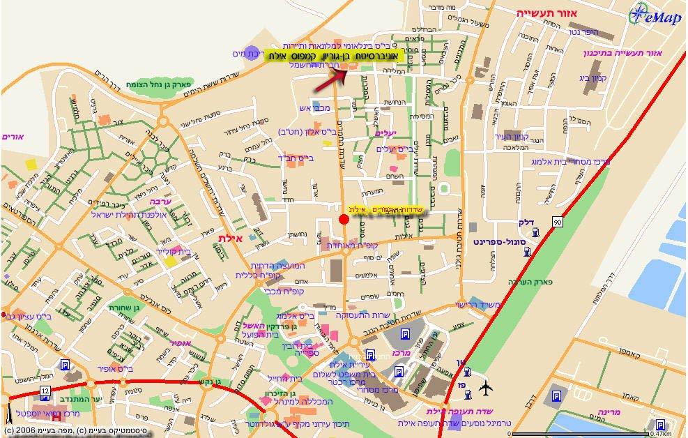 карта курорта Элайт