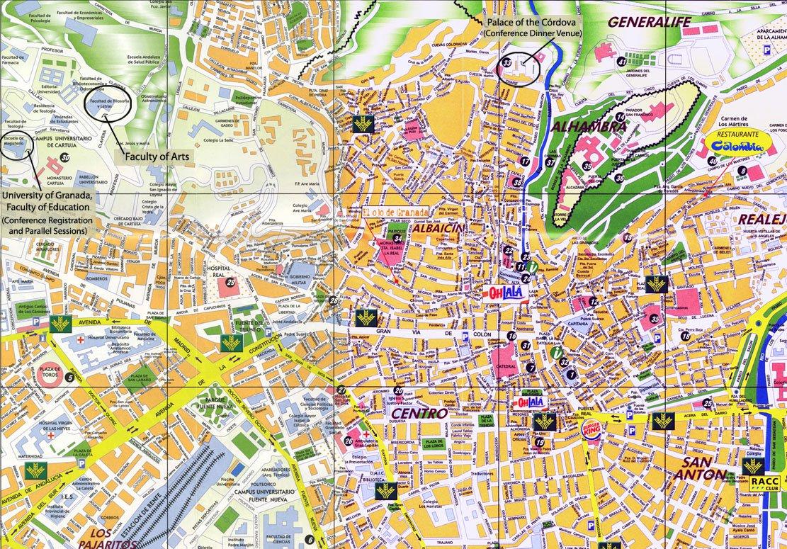 Карта рондо на русском языке