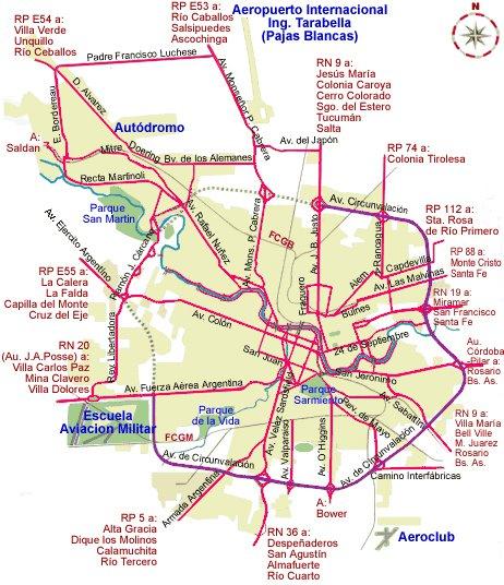 карта метро курорта Кордова