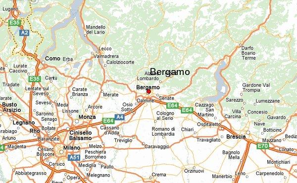 карта бергамо с достопримечательностями на русском языке скачать