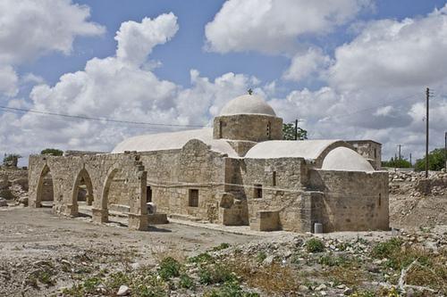 святилище афродиты кипр