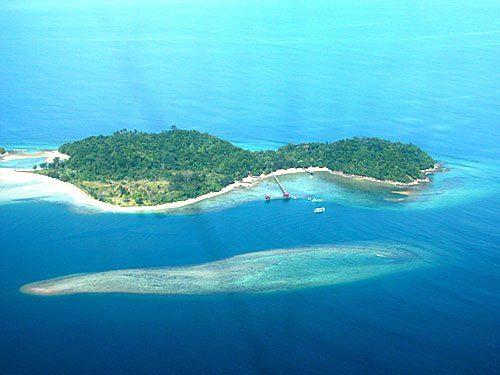 Борнео остров манукан или сапи